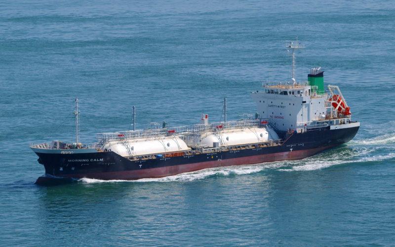 液化ガスばら積み船(外航船)