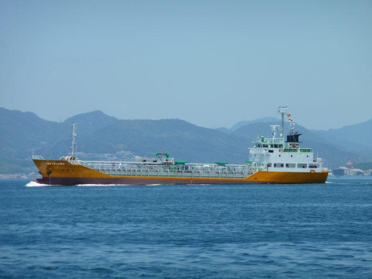 S.No.633 [青特丸] 航行中