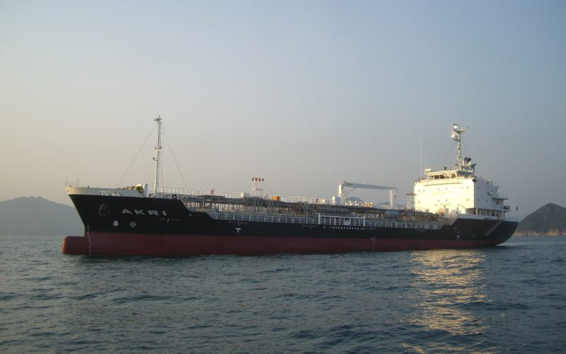 ケミカルタンカー(外航船)