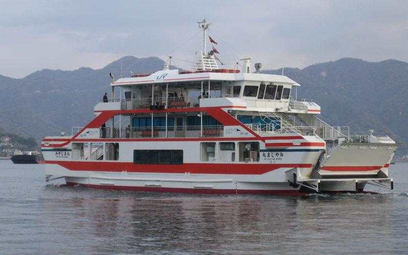 旅客船 兼 自動車渡船(宮島)