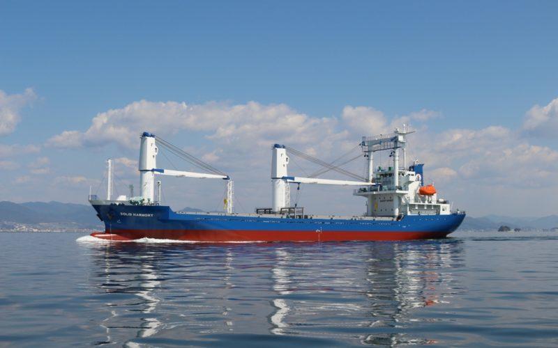 コンテナ兼一般貨物船(外航船)